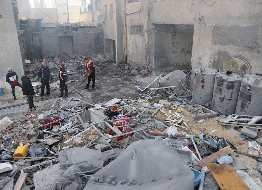 نداء طواريء غزة