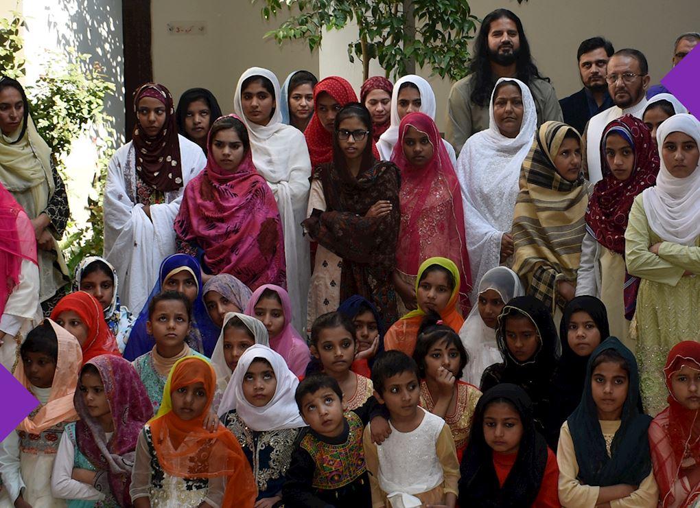 ملجأ أيتام الفتيات - باكستان