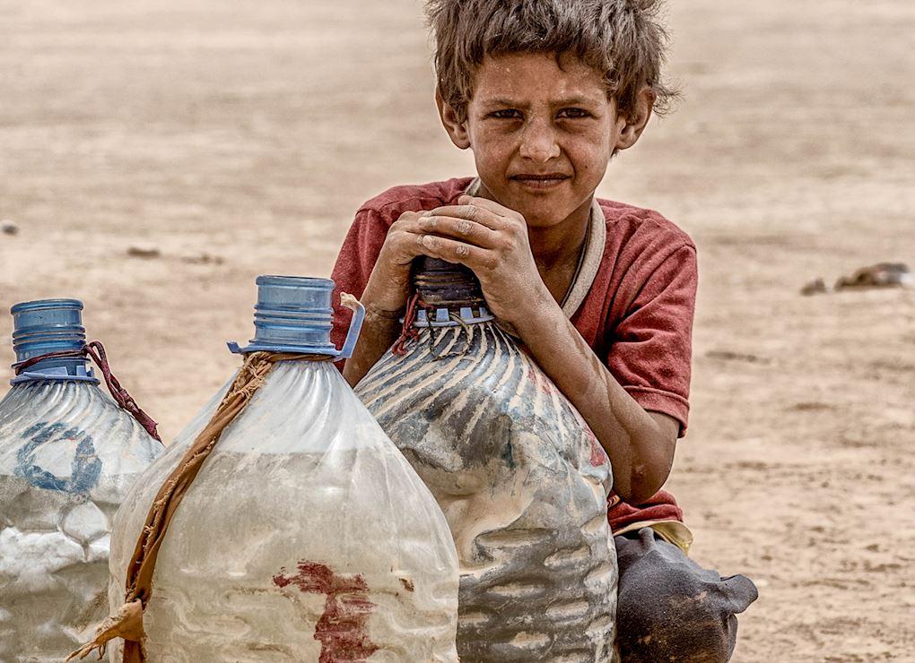 مياه منقاة بالطاقة الشمسية في العراق