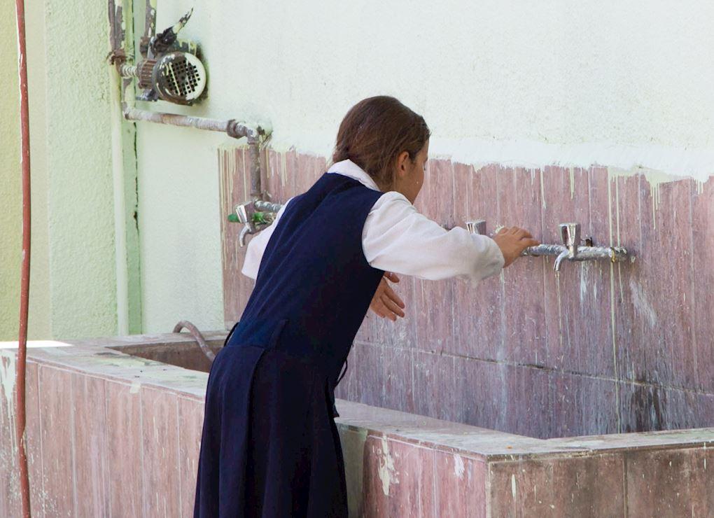 مياه نظيفة للمدارس