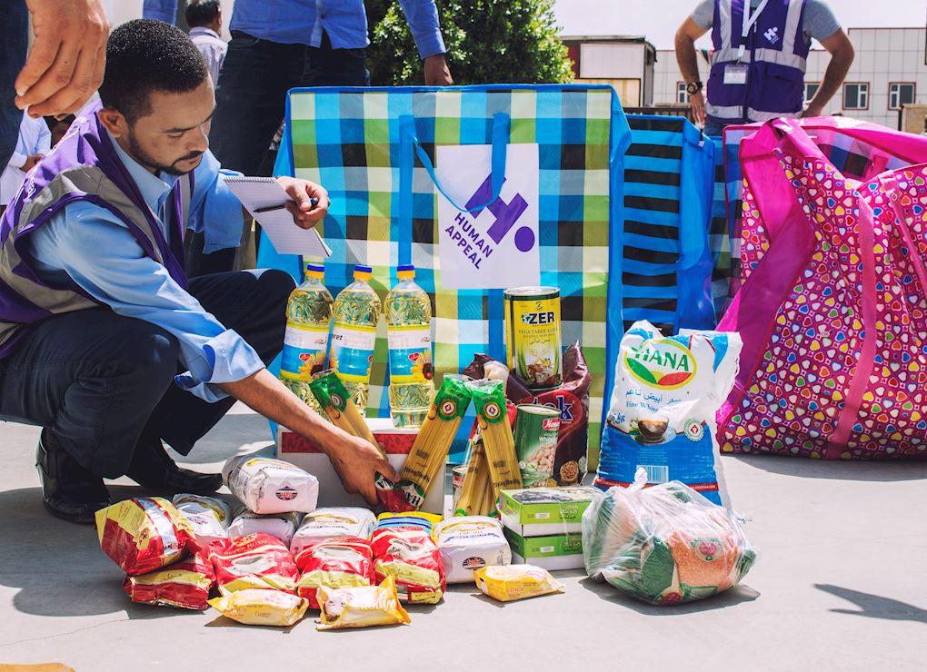 حقيبة غذائية عائلية - العراق