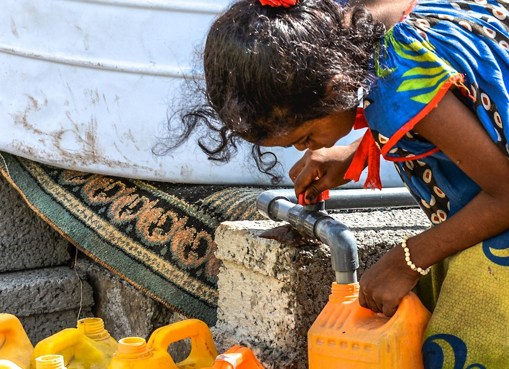 مصادر مياه مستدامة في اليمن