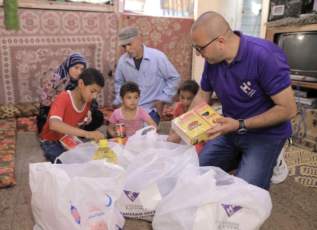 حقيبة غذائية عائلية - فلسطين