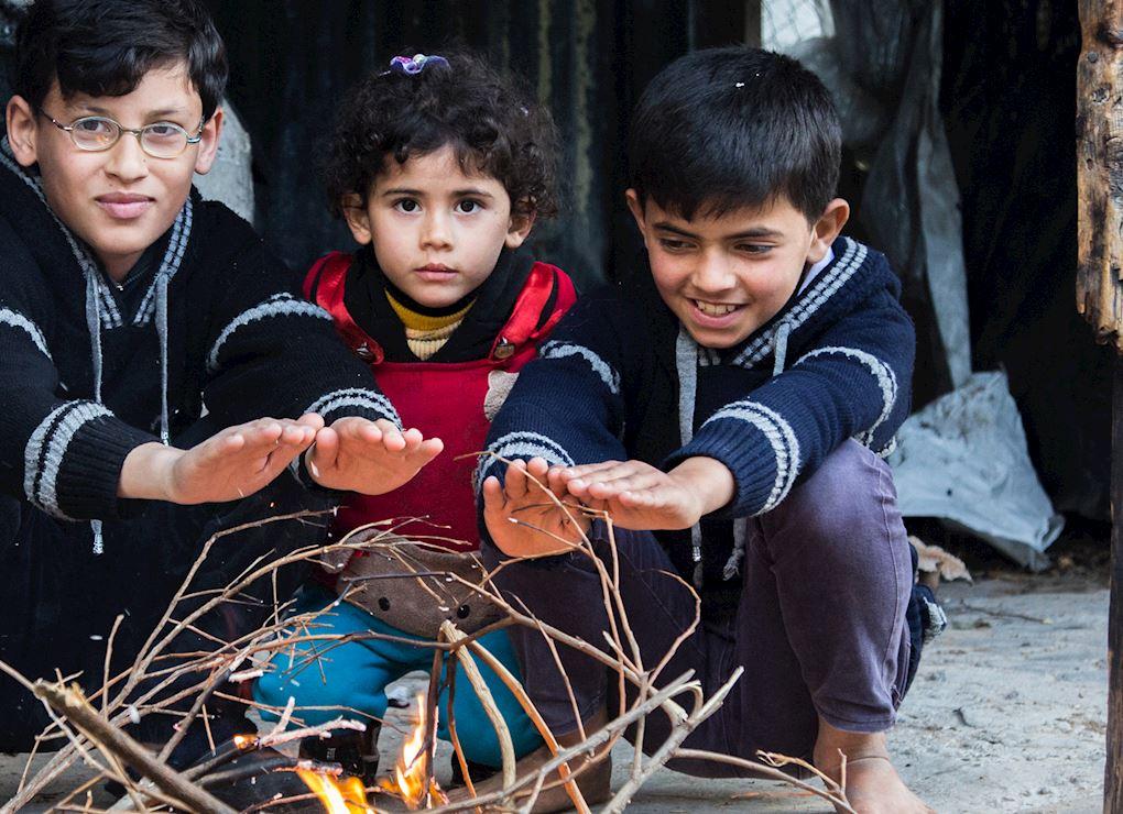 حملة شتاء غزة